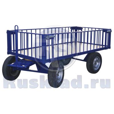 Выбираем грузовую тележку для склада